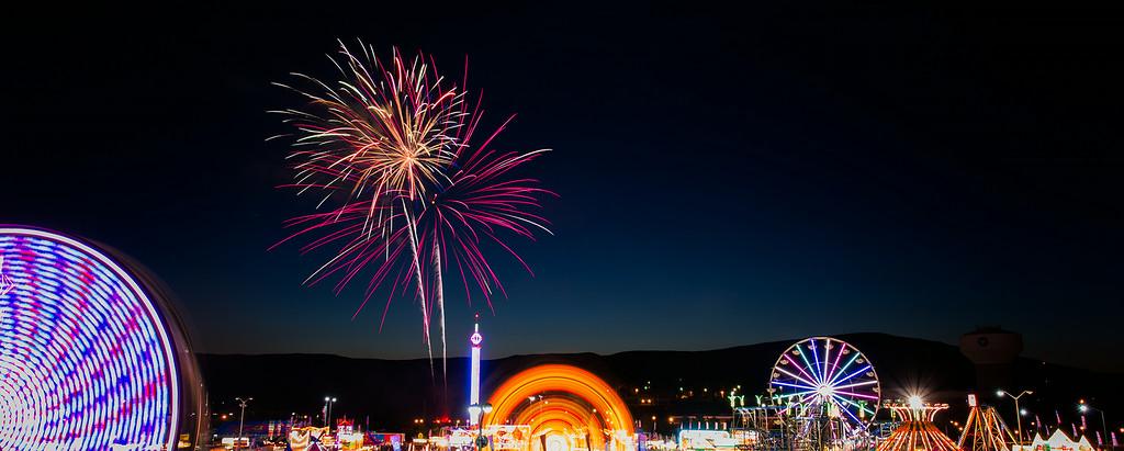 Salem Fair Fireworks