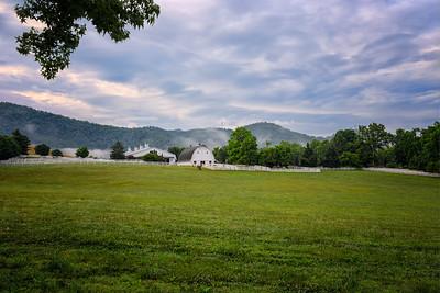 Early Morning Bent Tree Farm