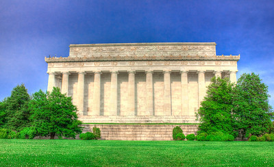 Lincoln Memorial in Washington,DC.