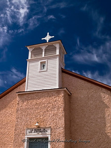 La Iglesia De San Juan Bautista Church-Lincoln, New Mexico