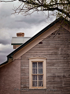Dr. Wood's House Window-Lincoln, New Mexico