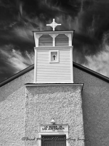 La Iglesia De San Juan Bautista Church-Lincoln, New Mexico