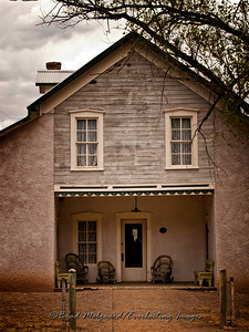 Dr. Wood's House Front Porch-Lincoln, New Mexico