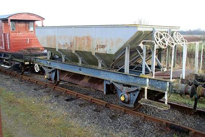 24t Ballast Dogfish DB992870 Lincs Wold Railway 24/11/12