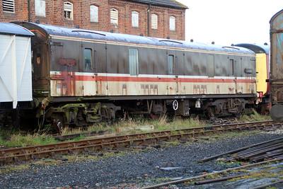 ex Motorail MK1 96162 at Lincs Wolds Railway 24/11/12