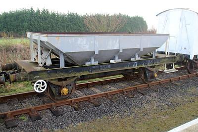 19t Ballast Catfish DB983476 Lincs Wold Railway 24/11/12