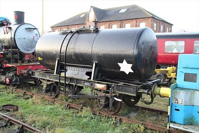 14t Tar Tank 40352 Lincs Wold Railway 24/11/12