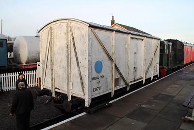 E87711 Lincs Wold Railway 24/11/12