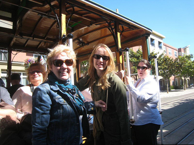 A trolley ride is a must do in SF.  So fun - we acted like school girls!