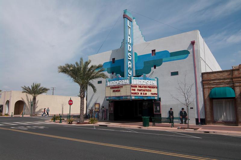 Lindsay Community Theater, Lindsay CA