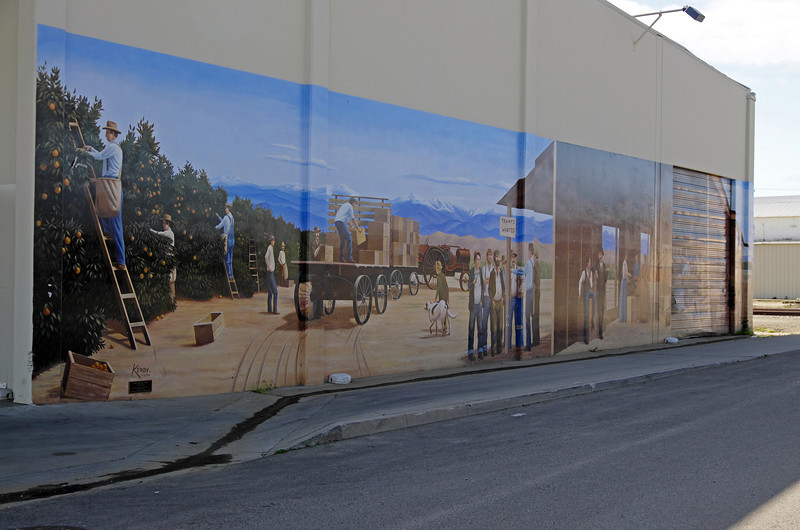 A Mural on a local business