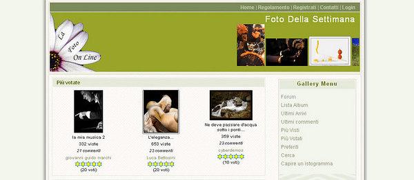 //www.lafotonline.net Comunità con gallerie, contest tematici, forum ecc.