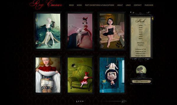 //www.raycaesar.com  Le opere dell'artista inglese Ray Caesar