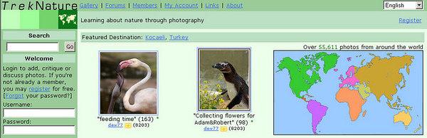 //www.treknature.com imparentato con trekearth, contiene immagine di animali e flora