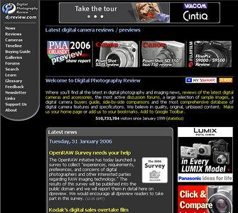 //www.dpreview.com Digital Photography Review è il miglior sito da consultare prima di acquistare una macchina fotografica digitale. Aggiornatissimo e molto completo, contiene anche test accurati e gallerie con scatti di prova.