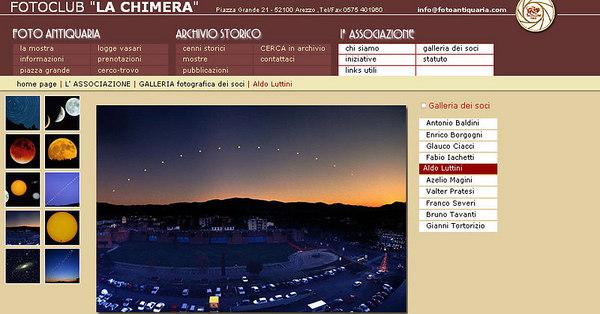 """//www.fotoantiquaria.com Sito del circolo aretino """"La chimera"""", con gallerie dei soci"""