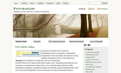 //www.fotografiamo.org/wp/ Sito in lingua italiana, con molte notizie utili e tutorials