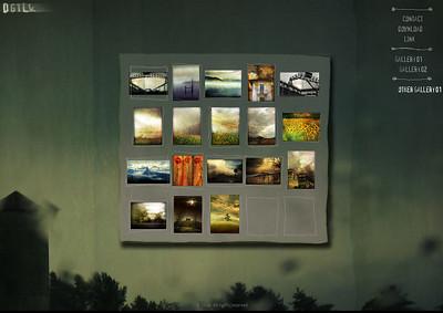 //www.dgtlk.net Ivan Caputo presenta le proprie fotoelaborazioni di corpi e paesaggi in un sito dalla grafica stupenda
