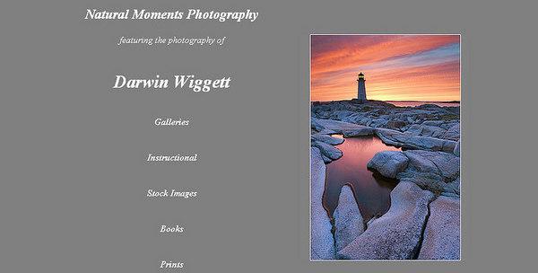 //www.darwinwiggett.com/ Raccoglie in prevalenza foto di paesaggi - molto bella la serie dei nudi ambientati nella natura