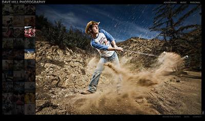 //www.davehillphoto.com/  Sito del fotografo Dave Hill, con opere al confine fra la fotografia e l'illustrazione