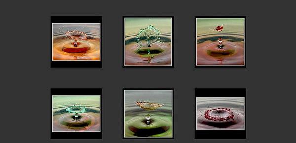 //www.pbase.com/daria90  Foto della fotoamatrice tedesca Irene Muller, di particolare bellezza le serie sulle goccie colorate ed il fumo.