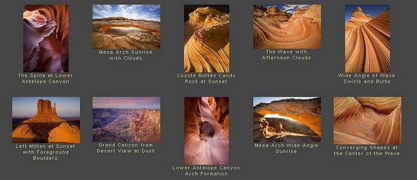 //www.pbase.com/kjschoen splendidi paesaggi americani, visibili anche sul sito personale:  http://www.schoenphotography.com