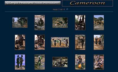 //www.sergiopessolano.it Fotografie di viaggio, di particolare bellezza la galleria dedicata al Cameroon