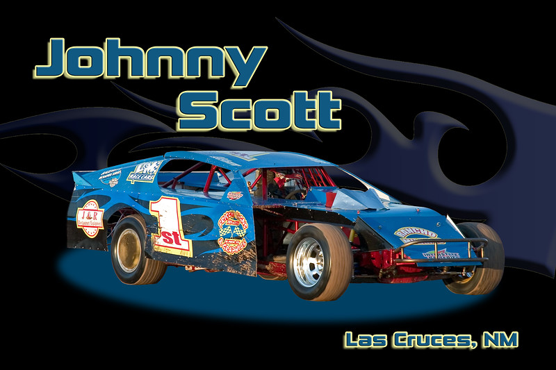 07 #1ST Barnett Modified - Johnny Scott