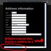 Address Info Popup