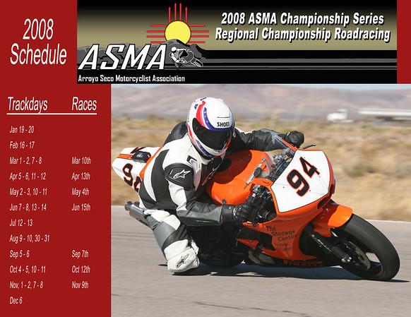 ASMA2008Schedule