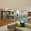 Brocade Campus, San Jose CA. Vance Brown Builders, RMW Architecture and Interiors.<br /> Guest area.