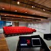 Brocade Campus, San Jose CA. Vance Brown Builders, RMW Architecture and Interiors.<br /> Main Theatre, Training Room with Video Conference.