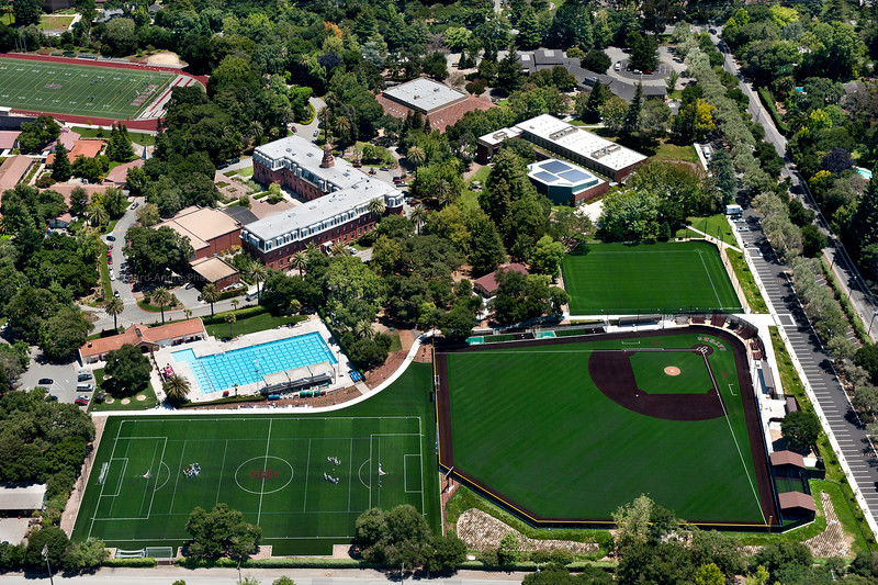Sacred Heart High School, Synthetic Athletic Fields. Colony Landscape.