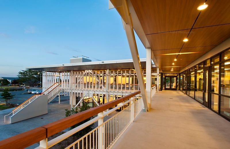 Student Center at Monterey Peninsula College. HGA Architects.