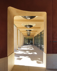 Stanford Institute for Economic Policy Research, Stanford Campus, Main Entrance. Vance Brown Builders.