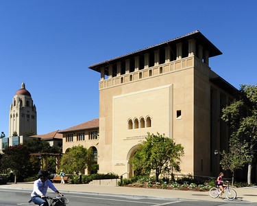 Stanford Institute for Economic Policy Research, Stanford Campus, Exterior Front. Vance Brown Builders.