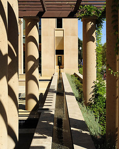 Stanford Institute for Economic Policy Research, Stanford Campus, Water Feature. Vance Brown Builders.