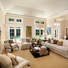 Private Residence, Living Room & dining Room. Atherton, CA. Lance Freeman, Hill Glazier Architects. Tapia Construction