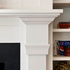 Private Residence, Fireplace Detail, Atherton, CA. Terri Kerwin, Kerwin & Associates.
