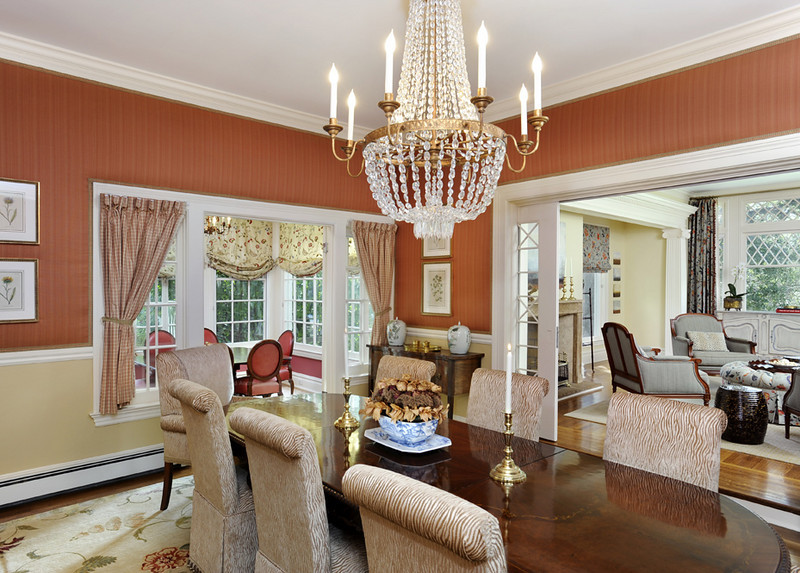 Hillsborough Private Residence, Dining Room. John Cella, McGuire Real Estate.