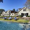 Private Residence, Back, Atherton, CA. Terri Kerwin, Kerwin & Associates.