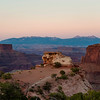 Dusk over Shafer Canyon. Canyonlands National Park. Moab, Utah.