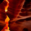 Entry of Antelope Canyon, near Page Arizona.