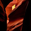 Inside Antelope Canyon, near Page, Arizona.