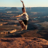 Sunset over Grand View Point Overlook. Canyonlands National Park. Moab, Utah.