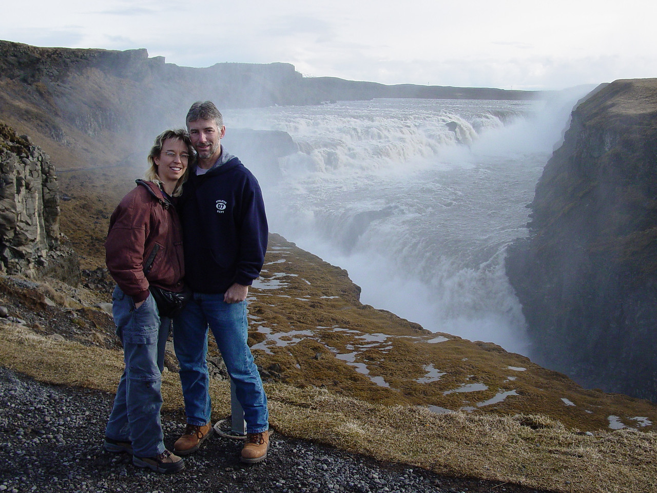 Amy and Guy in Iceland