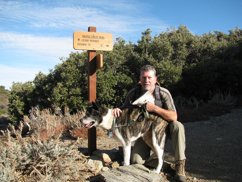 On the PCT.