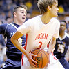 Don Knight / The Herald Bulletin<br /> Liberty Christian faced Marquette Catholic in the 1A semi-state at Lafayette Jefferson on Saturday.