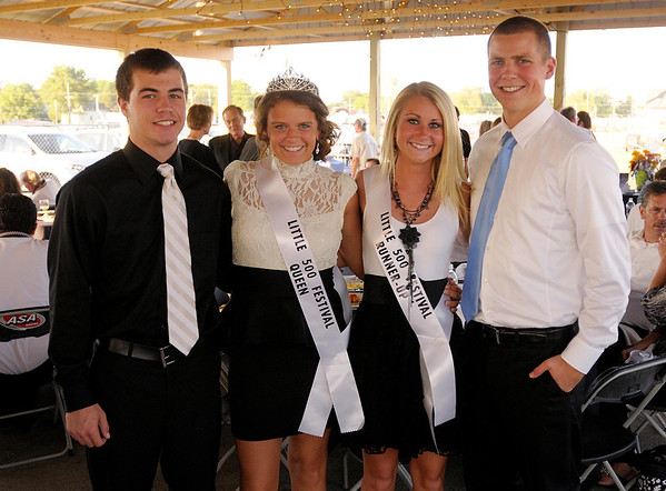 From left, Tyler Jackson, Alyssa Hathcoat, Victoria Kennedy and Cole Heberling.