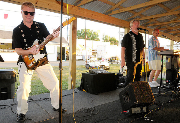 LJ and the All Stars provide the entertainment. From left are Mike Fox, Jon Barnard and LJ Mechum.